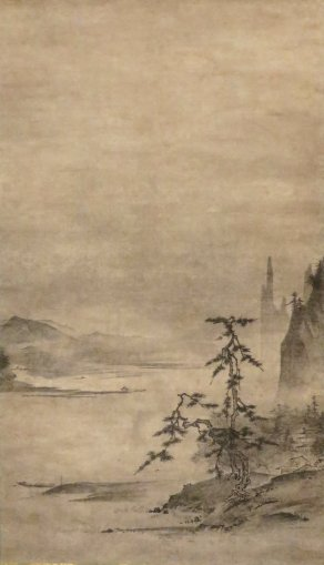 River_Landscape_by_Tensho_Shubun,_Honolulu_Museum_of_Art